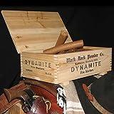 Woodeze Black Rock Powder Co Wood Stove Firestarter Stick And Crate Box