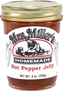 Hot Pepper Jelly Amish Made 2 8 Oz Jars