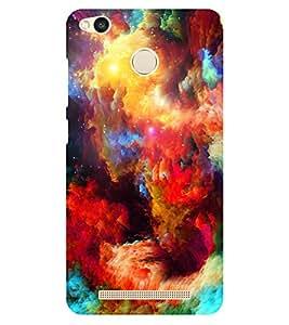 Chiraiyaa Designer Printed Premium Back Cover Case for Xiaomi Redmi 3S Prime (colorful painting) (Multicolor)