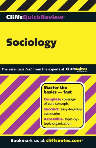 Cliffsquickreview Sociology front-850895