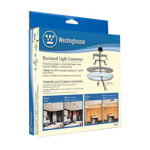 Westinghouse Recessed Lighting Conversion Kit : Westinghouse recessed light converter new