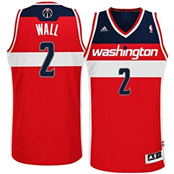 Washington Wizards NBA John Wall 2 Revolution 30 Swingman Road Jersey by adidas