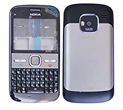 Nokia E5 Replacement Body Housing Front & Back Original Panel - Grey