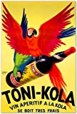 SMART ART - 'Toni-Kola ' by Robys - Robert Wolff - Fine Art Print 14x20 inches