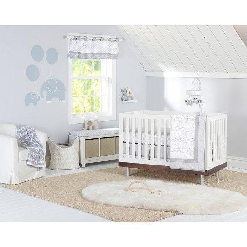 Just Born Hattie & Ellie Crib Bedding Collection (3 Piece Crib Set) front-649320