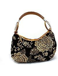 Women Fashion Beaded Shoulder Handbag 2015 Flower Evening Bags Retro Chain Handbag /clutches Red Casual National...