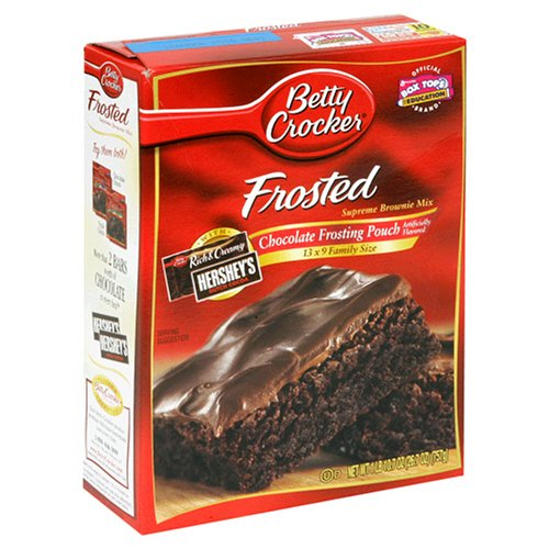 Buy Betty Crocker Supreme Brownie Mix, Frosted, 26.7-Ounce Pouches (Pack of 12)