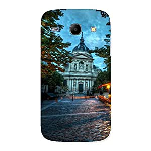 Cute Fort Vintage Back Case Cover for Galaxy Core