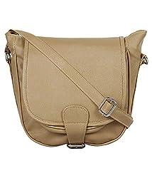 Rapidcostore Women's Sling Bag Brown RC-0557