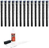 Winn Dri-Tac Wrap Midsize +116-Inch Grip Kit (13-Piece), Black