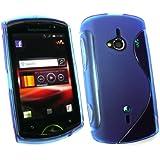 Emartbuy ® Sony Ericsson Walkman Live Wave Modello Gel Cover Blu