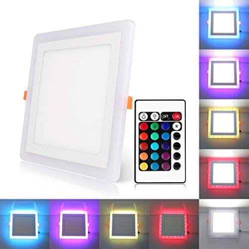 bloomwin-spot-encastrable-led-bicolore-led-plafond-24w-downlight-plafonnier-rgb-blanc
