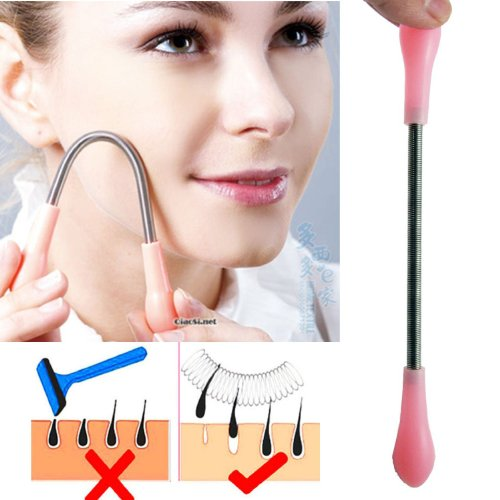 MySpring It – Spring Facial Hair Removal Tool (Better than R.E.M. for less money)