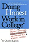 Doing Honest Work in College: How to...