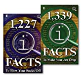 John Lloyd John Lloyd QI Facts 2 Books Collection Set, (1,339 QI Facts To Make Your Jaw Drop & 1,227 QI Facts To Blow Your Socks Off)
