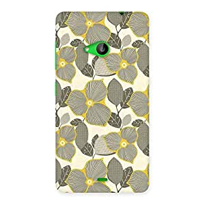 Special Unknown Creature Print Back Case Cover for Lumia 535