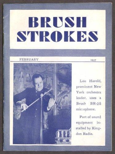 Rochelle Salt Brush Strokes Microphone 2 1937