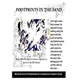 Footprints in the Sand; One Night a Man Had a Dream