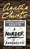 A Murder is Announced (0007120966) by Christie, Agatha