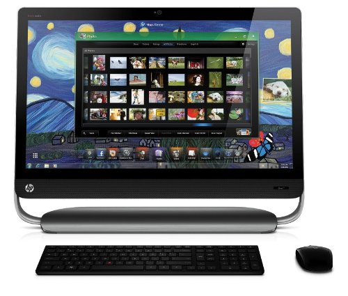 HP Pavilion 27-1110ea Desktop (Intel Core i3-2120 Processor, 4 GB RAM, 1 TB HDD, Windows Home Premium)