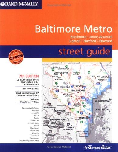 Rand McNally 2004 Baltimore Metro: Street Guide