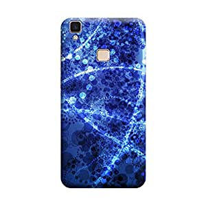 Digi Fashion Designer Back Cover with direct 3D sublimation printing for Vivo V3