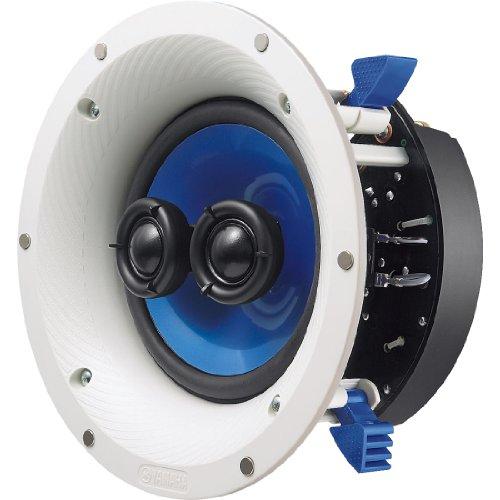 Yamaha Corporation Of America Nsics600Wh Yamaha Ns-Ics600 120 Watt Rms Speaker, White/Blue