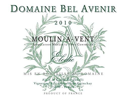 2010 Domaine Bel Avenir Moulin-A-Vent Elodie 750 Ml