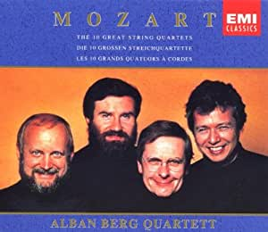 Mozart: The 10 Great String Quartets ~ Alban Berg Quartett