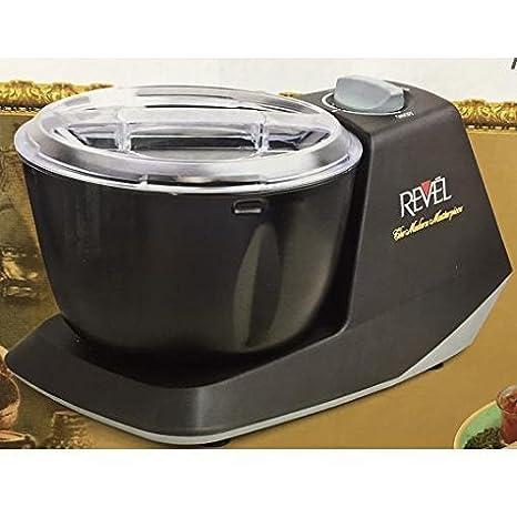 Revel CDM301 Atta Dough Mixer Maker Non Stick Bowl, 3 L, Black available at Amazon for Rs.23558