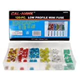 120 Car Truck SUV Low Profile Mini Blade Fuse Lot