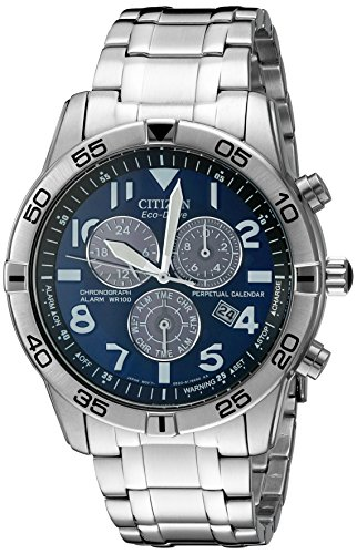Citizen Men's BL5470-57L Stainless Steel Eco-Drive Watch (Citizen Ecodrive Blue Dial compare prices)