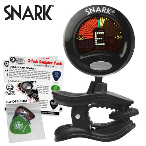 deals for snark sn 5 clip on tuner for guitar bass and violin with tap tempo metronome and full. Black Bedroom Furniture Sets. Home Design Ideas