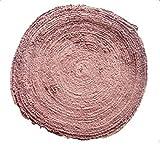 タオル グリップ ロール 10m バドミントン テニス ラケット テープ 付き (ブラウン)