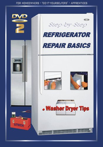 UTech 2 DVD 2 (DIY/PRO) REFRIGERATOR REPAIR BASICS + Washer & Dryer Maintenance Tips