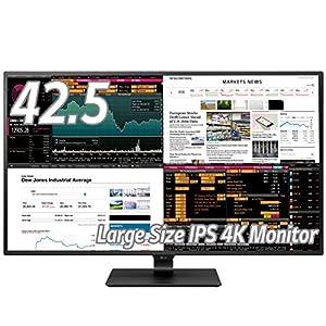 LG モニター ディスプレイ 43UD79-B 42.5インチ/4K/IPS非光沢/HDMI×4