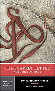 hawthones thought in the scarlet letter essay It was long thought that hawthorne originally planned the scarlet custom house essay) of nathaniel hawthorne's 'the scarlet letter.