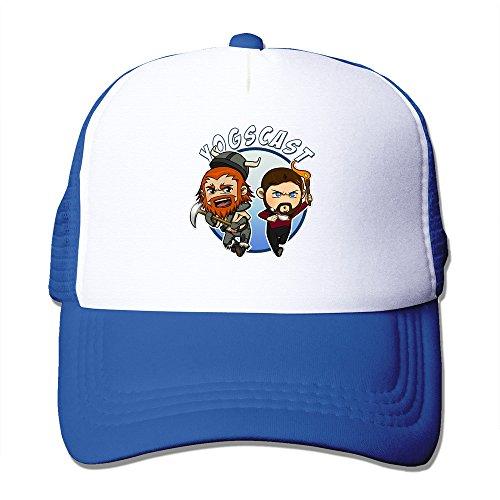 Graphic Yogs Cast Caps Hat Meshback Adjustable Hat 1 Size RoyalBlue