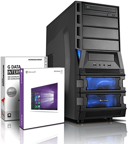 Ultra 6-Kern DirectX 12 Gaming-PC Computer FX 6100 6x3.90 GHz Turbo - GeForce GTX950 2GB DDR5 - 16GB DDR3 1600 - 2TB HDD - Windows10 Prof - DVD±RW #5152