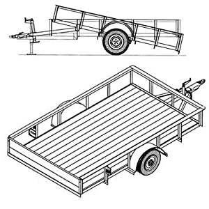 Enclosed Cargo Trailer Shelving Ideas on tilt trailer plans
