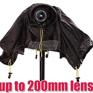 EzFoto Camera Rain/Snow Cover Protectors for Pro Digital SLR Camera with up to 200mm lens installed for Canon, Nikon, Olympus, Panasonic, Pentax, Sony, Fujifilm, Simga Digital SLRs