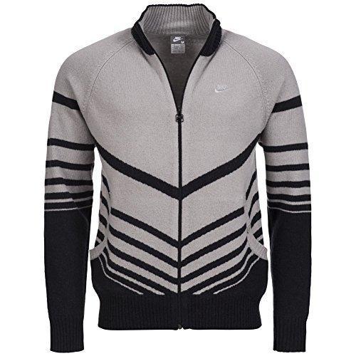 Nike Fusion Lana Lavorato A Maglia Top Mens Sweatjacke - 256776-082, S, Cotone