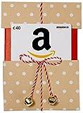 Amazon.de Geschenkgutschein in Geschenkkuvert - 40 EUR (Beige mit Punkten)