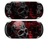 Skull 251 Vinyl Skin Sticker Cover Protector for Sony Playstation PS Vita PSV