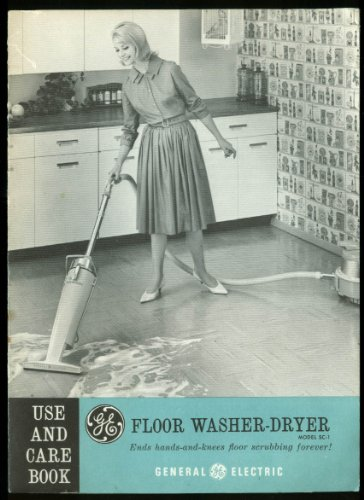General Electric Ge Floor Washer-Dryer Instructions 1950S