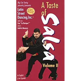 A Taste of Salsa, Volume II (Spanish & English Language) [VHS]: Hans Schaal, Andres Meneses: Video