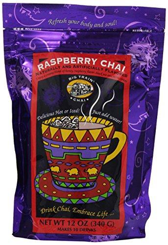 Big Train Raspberry Chai, 12-Ounce Bags (Pack of 3) (Big Train Raspberry Chai compare prices)