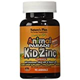 Nature's Plus - Animal Parade KidZinc Lozenges - Tangerine Flavor, 90 count