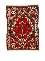 Eden Carpets Alfombra Bergama Rojo/Azul 135 x 100 cm
