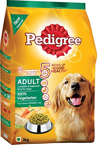 Pedigree Vegetarian Dog Food Ingredients